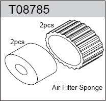 TeamC Air Filter Sponge (2)