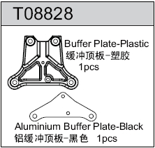 TeamC GT8 Buffer Plate Set