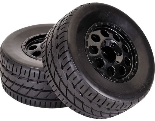 TeamC Short Course OnRoad Tyre With Black Wheel