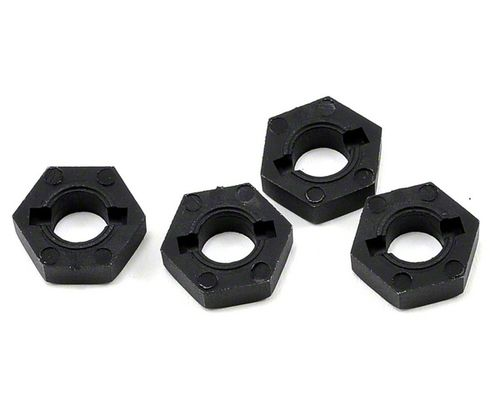 Tekno RC Wheel Hexes (SCT410, 12mm, composite, black)