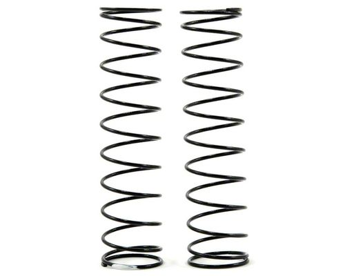 Team Losi Racing Rear Shock Spring Set (White - 1.8 Rate)