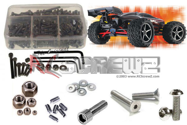RCScrewZ Stainless Steel Screw Kit - Traxxas 1:16 E-Revo