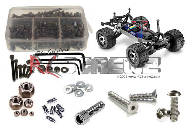 RCScrewZ Stainless Steel Screw Kit - Traxxas Stampede 4x4