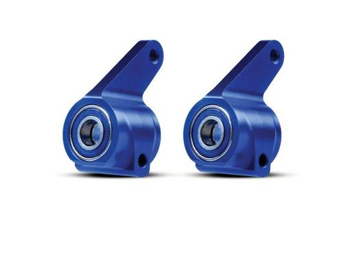 Traxxas Aluminum Steering Blocks - Blue