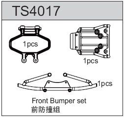 TeamC Front Bumper Set