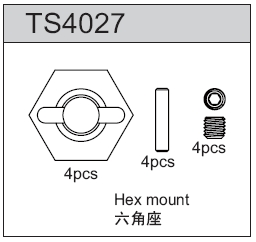 TeamC Hex Mount