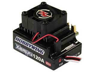 Hobbywing XERUN 120A Brushless ESC V2.1 - Black Edition
