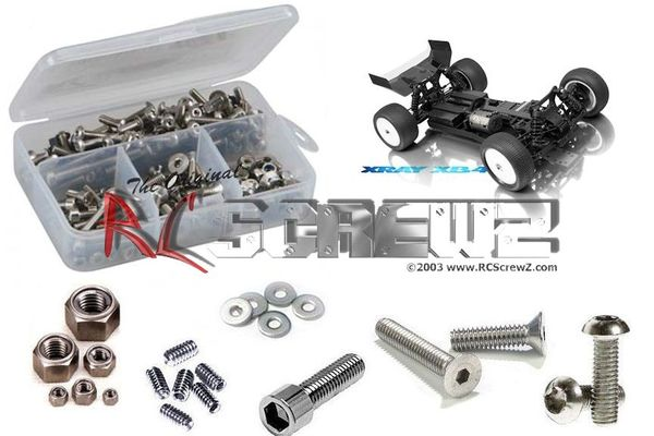 RCScrewZ Stainless Steel Screw Kit - Xray XB4