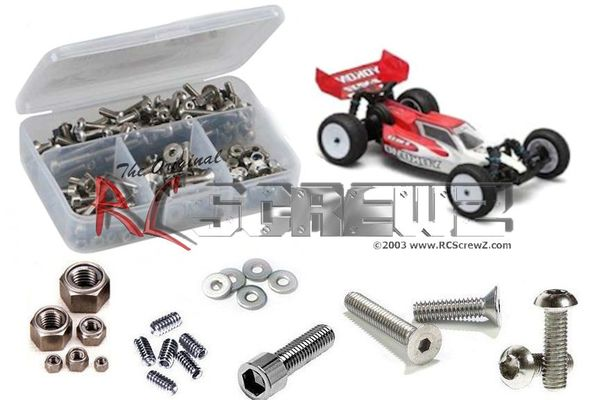 RCScrewZ Stainless Steel Screw Kit - Yokomo B-Max2MR v.3
