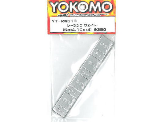 Yokomo Racing Weights - Total of 60g